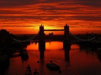 Picture of the Day: Sunrise Over London's Tower Bridge
