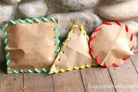 Combine learning about shapes and fine motor activities with this stuffed shape craft for kids.