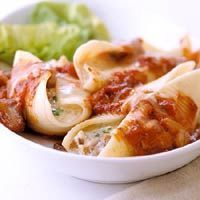 Cheese and Nut Stuffed Shells Recipe. I make this all of the time and you wouldn't even know that there isn't any meat in it! Very good!
