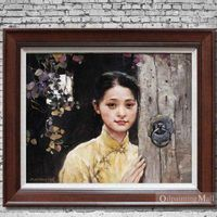 Reproduction People Portrait Oil Painting By Pan Honghai