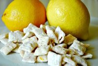 Lemonade Chex Mix...for the lemon lovers in my life.