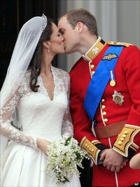 A selection of photos from the royal wedding of Prince William and Kate Middleton
