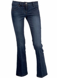 Dorothy Perkins Blue bootcut jeans Blue denim bootcut jeans. Available in 30, 32, 34 leg lengths. 80% Cotton,19% Polyester,1% Elastane. Machine washable. http://www.comparestoreprices.co.uk//dorothy-perkins-blue-bootcut-jeans.asp