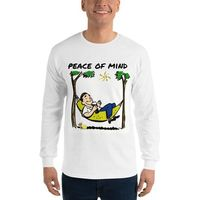Long Sleeve T-Shirt Peace of mind $22.50
