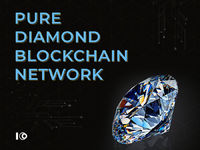 Pure diamond blockchain network - ICODevelopment.io  Pure Diamond believes its use of blockchain technology is giving it a competitive advantage in the lab-grown diamond market. with the primary purpose being to improve its customer service through the ...