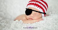 Pirate+Beanie+and+Removable+Eye+Patch+for+Newborn+to+by+Props4Play,+$12.00