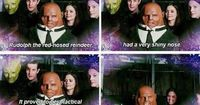 Strax really understands the magic of Christmas.
