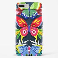 Quirky Emperor Butterflies Hard Case Phone Cover from Myxtur