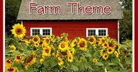 Pre-K & Preschool theme ideas for learning about farms, farm animals, and crops. Find more Farm Activities for Pre-K Books Click here for a complete list of Far