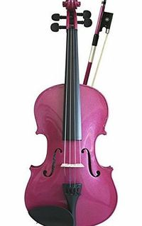 Primavera Violin Set 1/2, Rainbow Fantasia Pink This instrument has been set up in our string workshop. The Rainbow Fantasia is made by the well-known Sound Post company.Hand carved maple and spruce. (Barcode EAN = 5055318431416) http://www.compar...