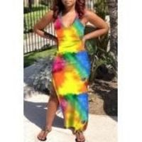 Women's Tie Dye Maxi Dress $25.00