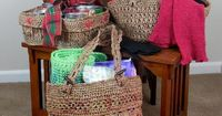 (4) Name: 'Crocheting : Pay-it-Forward Plarn Projects (M14-008)
