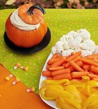 DIY Pumpkin Dip halloween halloween party halloween food halloween decorations halloween crafts halloween ideas diy halloween halloween pumpkins halloween party decor halloween pumpkin ideas