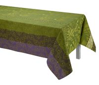 Bahia Green Table Linen by Le Jacquard Français $190.00
