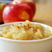 Homemade apple sauce with just 4 ingredients. This recipe is very easy and I make it all the time for my kids. I do cut the sugar in half. I found I really don't need it depending on what kind of apple I use.