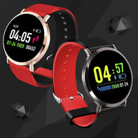 XANES® T8 Color Touch Screen IP67 Waterproof Smart Watch Heart Rate Blood Pressure Monitor Multiple Sports Modes Fitness Bracelet