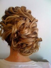 Up do for a wedding?