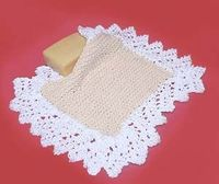 Lacy Lady Washcloth