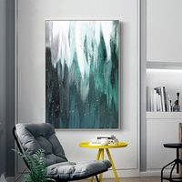 Modern art Abstract painting on canvas art green painting wall pictures extra large hand painted Home decor cuadros abstractos $123.75