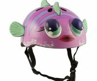 La Sports Pink Fish Childrens Helmet Cycling Skating Scooter Bike (Suitable ages 3 - 11) Fish Style Children Helmet. Constructed and tested to EN1078-1997 A1 - 2005 standards. CE Standard. Suitable for head size 52 - 58 cm adjustable fitting with ...
