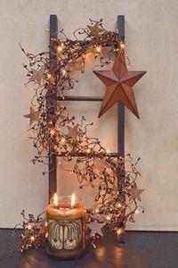 Cute idea for a fireplace deco