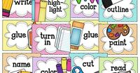 A Cupcake for the Teacher: Picture Directions Freebie