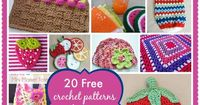 20 Free Crochet Patterns Inspired By Berries, Summertime and Citrus Fruits