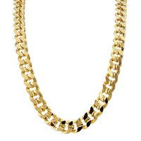 18K Gold Plated 9mm Cuban Chain (new ecoated) £24.95