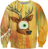 Spirit Animal Sight: Deer Sweatshirt $75.00