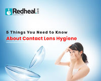 Contact lens is the easiest form of vision correction! Just slip it in your eye and it stays intact for hours. Not to mention without causing the un-comfort that comes with setting spectacles right.