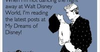 When I'm not dancing the night away at Walt Disney World, I'm reading the latest posts at My Dreams of Disney!