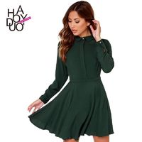 Boyfriend Pleated Slimming Curvy Buttons Summer Invisible Dress Blouse - Bonny YZOZO Boutique Store