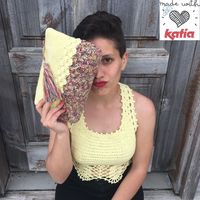 Crochet top and bag pattern
