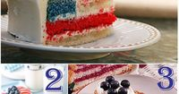 patriotic American flag desserts for Memorial Day or 4th of July