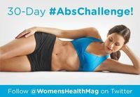 """Flat abs are made in the gym �€"""" AND the kitchen. Use our 30 day ab challenge and eating strategies to get a flatter stomach in 30 days!"""
