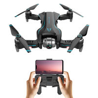 FUNSKY S20 WIFI FPV With 4K HD Camera GPS Positioning Mode Intelligent Foldable RC Drone Quadcopter RTF