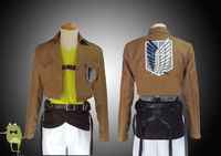 Attack on Titan Connie Springer Cosplay Costume Survey Corps