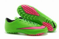 Nike Mercurial Victory X TF Soccer Cleats 2015 Green Pink