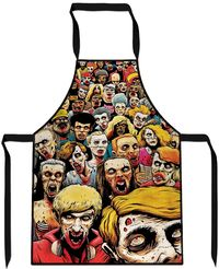 Zombies at the Mall Cooking Apron $29.99
