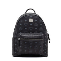 MCM Small Stark Backpack In Black