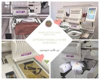 Tai Blood Embro   PEARL tubular style machines Different models like 1502 400 x 450, 1201 500 x 400, 1501 360 x 200 and many more   special promotions for our small and medium businesses .. Buy what meets your needs and earn exclusive profits - take adva...