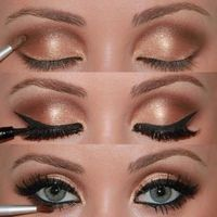 7 STEPS FOR PERFECT SMOKEY EYE makeup! I have tried this and she gives Great tips, FYI ladies tip on how to make your lashes look so long and thick like falsies