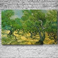 Olive Grove By Vincent van Gogh Hand Painted Reproduction