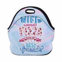Printed lunch boxes durable, easy to clean is perfect size to carry to school.