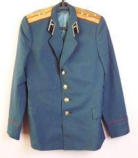 Uniform Jacket Parade Blazer Soviet Russian Army Military Tunic Captain $42.00