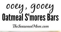 Ooey Gooey Oatmeal Smores Bars: the perfect summer treat -- no campfire necessary!