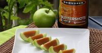 Caramel Apple Shots. If you make these little gems at your next party, there is no doubt in my mind that you will be the rock star! YUMMMMMM.