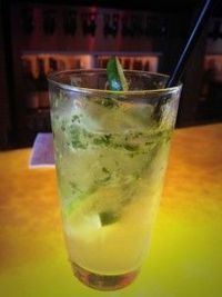 Raising Reagan | Mojito with Mint Infused Simple Syrup