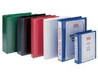 EXP A4 green 25mm four ring presentation binder, Presentation binders with full clear pockets on front and spine.Quality PVC material4 D ring mechanism fitted to back cover http://www.comparestoreprices.co.uk//exp-a4-green-25mm-four-ring-presentation-bind...