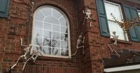 Skeletons Climbing your House's Walls.